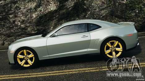 Chevrolet Camaro ZL1 2012 v1.2 for GTA 4 left view