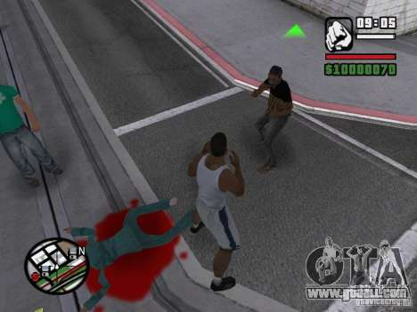 You cannot beat the women 2.0 for GTA San Andreas second screenshot