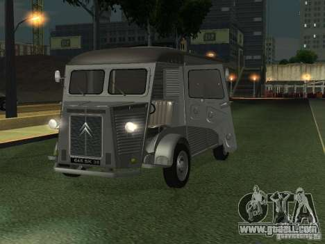 Citroen HY 1972 for GTA San Andreas