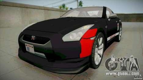 Nissan GT-R  AMS Alpha 12 for GTA San Andreas