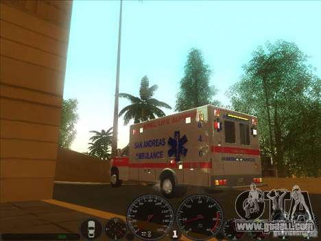 Ford E-350 Ambulance 2 for GTA San Andreas left view
