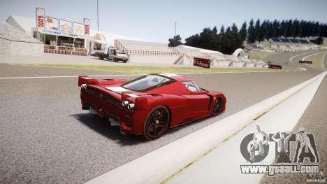 Ferrari FXX for GTA 4 bottom view