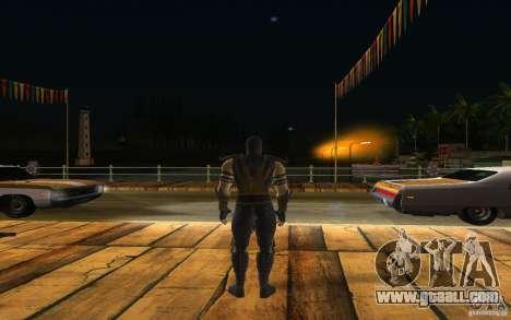 Scorpion v2.2 MK 9 for GTA San Andreas third screenshot