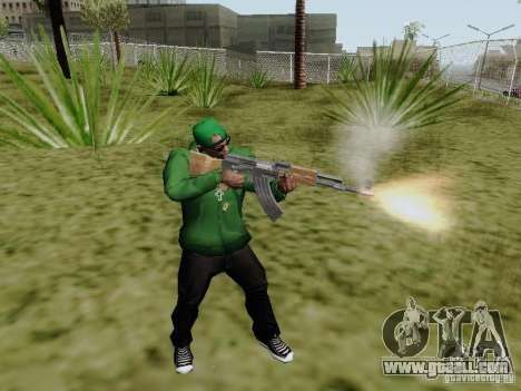 AK-47 of Saints Row 2 for GTA San Andreas second screenshot