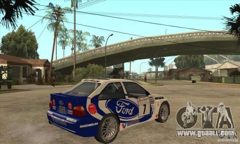 Ford Escort RS Cosworth for GTA San Andreas side view