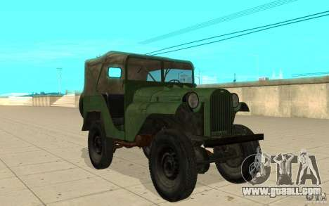 Gaz-64 skin 1 for GTA San Andreas