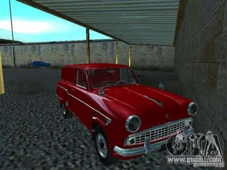 Moskvich 430 for GTA San Andreas