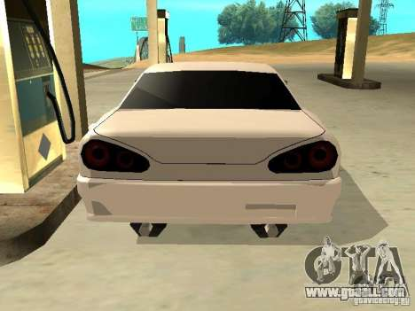 New Elegy v.1 for GTA San Andreas left view