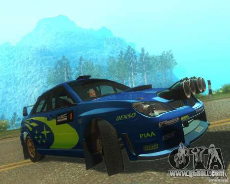 Subaru Impreza WRX STI DIRT 2 for GTA San Andreas left view