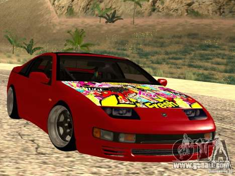 Nissan 300ZX JDM for GTA San Andreas right view