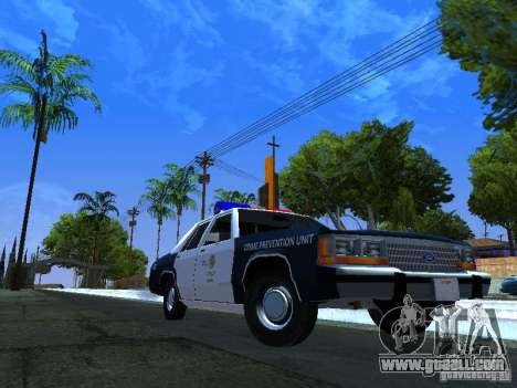 Ford Crown Victoria LTD 1992 LSPD for GTA San Andreas left view