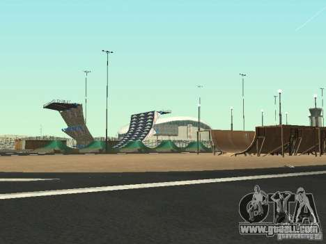 Drift track and stund map for GTA San Andreas second screenshot