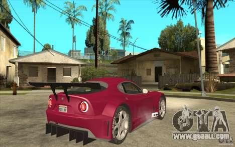Alfa Romeo 8C GT3 RSX for GTA San Andreas right view