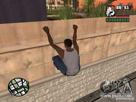 PARKoUR for GTA San Andreas forth screenshot