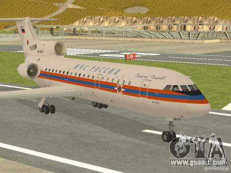 Yak-42 EMERCOM of Russia for GTA San Andreas