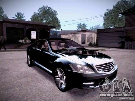 Mercedes-Benz S65 AMG 2011 for GTA San Andreas right view