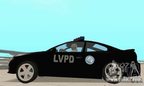 Pontiac GTO 2004 Cop for GTA San Andreas right view