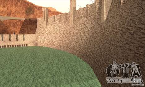 The new dam for GTA San Andreas second screenshot