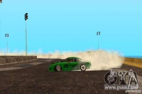 New track for drifting for GTA San Andreas third screenshot