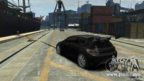 Volkswagen Scirocco GT-24 for GTA 4 left view