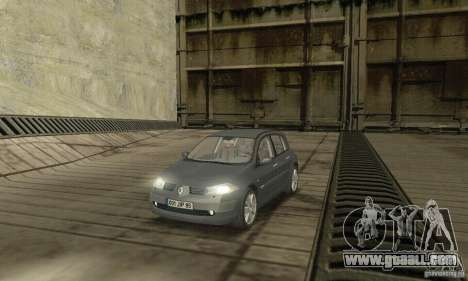 Renault Megane II 2005 for GTA San Andreas