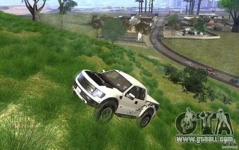 Ford F150 SVT RapTor for GTA San Andreas bottom view