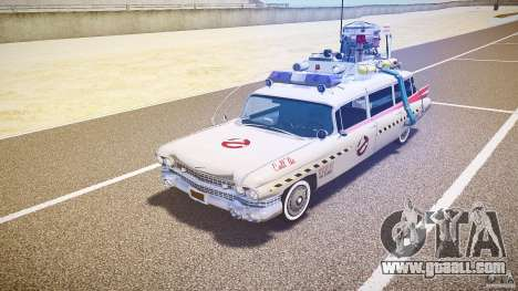 Ecto-1 (ghost hunters) Final for GTA 4 left view