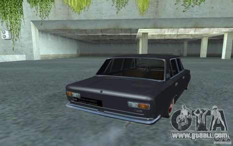 Vaz-2101 Retro Style for GTA San Andreas back left view