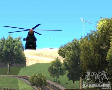 Cops Hoddogeres for GTA San Andreas right view