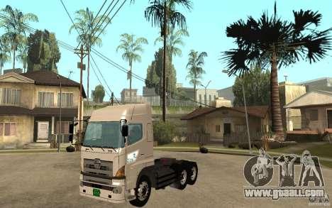 Hino 700 Series for GTA San Andreas