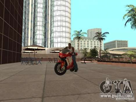 Ducati 1198R for GTA San Andreas