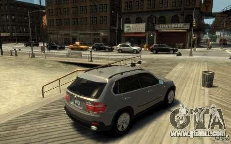 BMW X5 E70 Chrome for GTA 4 right view