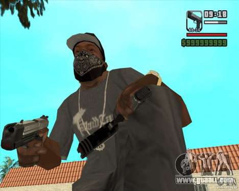 New Pistol for GTA San Andreas second screenshot