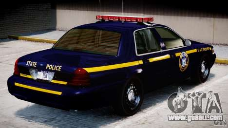 Ford Crown Victoria New York State Patrol [ELS] for GTA 4 interior