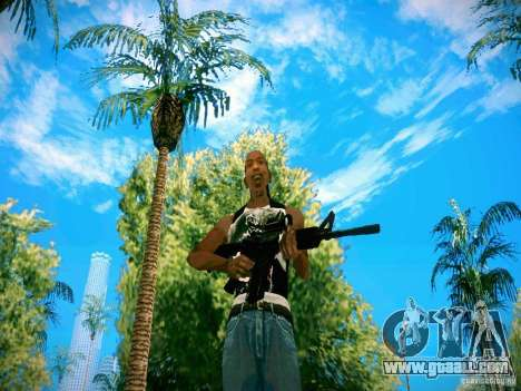 HD Pack weapons for GTA San Andreas