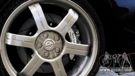 Nissan GT-R R35 SpecV 2010 for GTA 4 back left view