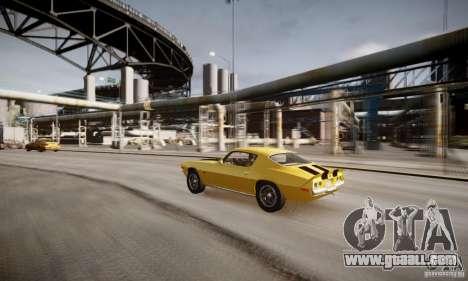 Chevrolet Camaro Z28 for GTA 4 bottom view