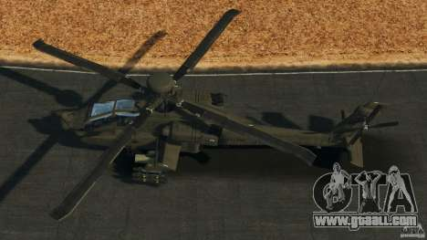 Boeing AH-64 Longbow Apache v1.1 for GTA 4 right view