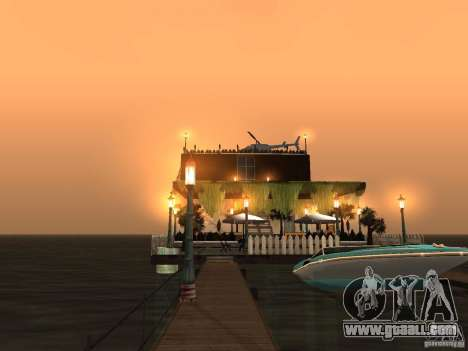 Club on the water for GTA San Andreas eighth screenshot