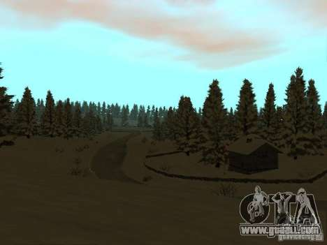 Winter Trail for GTA San Andreas fifth screenshot