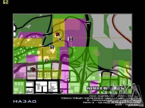 Miami House for GTA San Andreas fifth screenshot