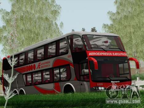 Marcopolo DD800 Volvo B12R for GTA San Andreas upper view