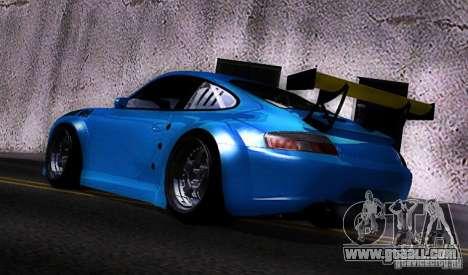 Porsche 911 GT3  RWB for GTA San Andreas back left view