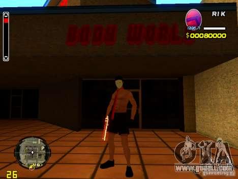 Skin Beach man for GTA San Andreas