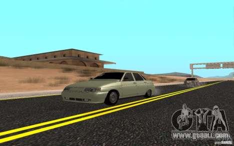 VAZ 2110 Light Tuning for GTA San Andreas