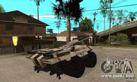 M35 Mako for GTA San Andreas right view