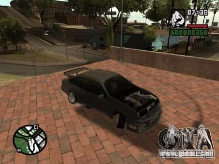 Ford Sierra Drift for GTA San Andreas left view