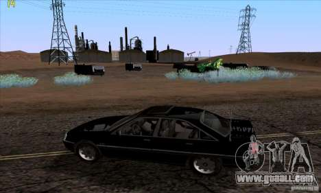 Opel Omega A Diamant Stock for GTA San Andreas back view