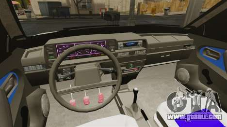 Vaz-21099 for GTA 4 back view