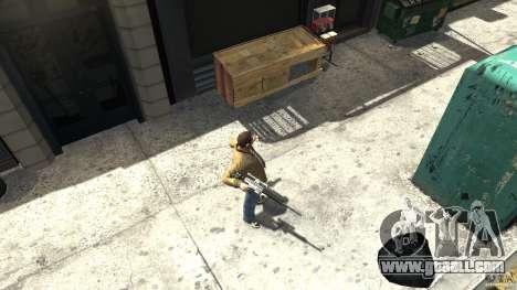 PSG1 (Heckler & Koch) for GTA 4 third screenshot